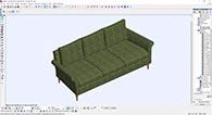 Första möbeln som tredimensionellt BIM-objekt